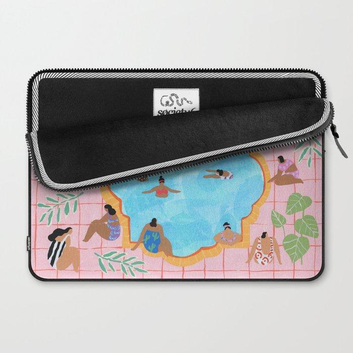 Marigold pool Laptop Sleeve