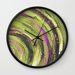 Spiral nature Wall Clock