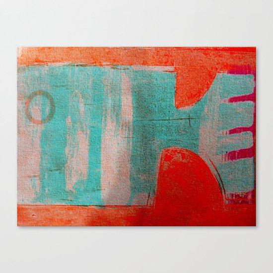 Peixe Rabo de Pente Canvas Print