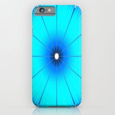 TURQUOISE Flower iPhone 6s Slim Case