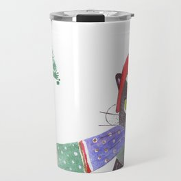 Christmas Cat Travel Mug