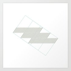 #153 Speed of sound – Geometry Daily Art Print