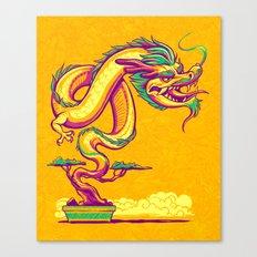 Bonsai Dragon Canvas Print