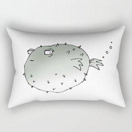 pufferfish Rectangular Pillow