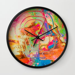 Feel the Rainbow Wall Clock