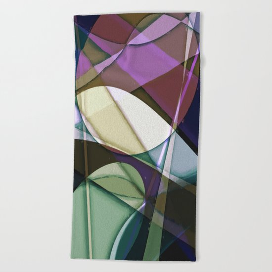 Abstract #368 Beach Towel