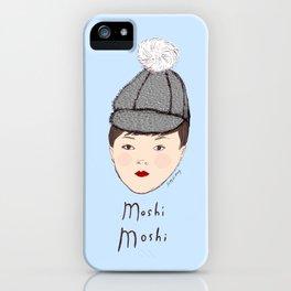 Moshi Moshi - Blue iPhone Case