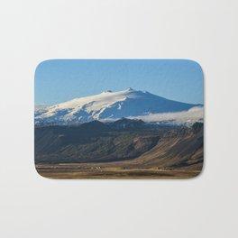 Snaefellsjokull volcano 2 Iceland Bath Mat