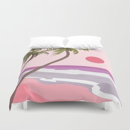 Tropical Landscape 01 Duvet Cover