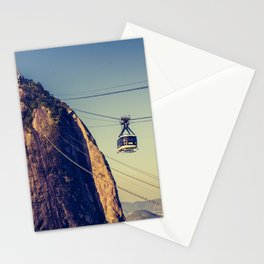 Sugar Loaf Mountain in Brazil Stationery Cards