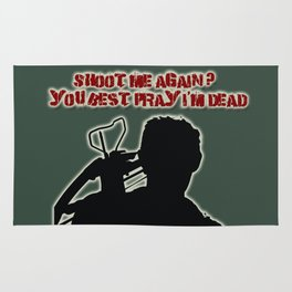 Daryl Dixon-Shoot Me Again Rug