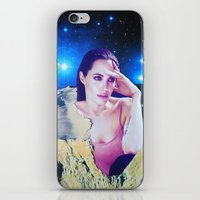 angelina jolie iPhone & iPod Skins featuring Angelina Jolie by John Turck