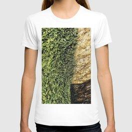 Green Moss Stone Wet Texture 210302 T-shirt