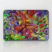 seashell iPad Cases featuring offshore seashell by donphil