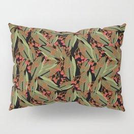 Flowering Gum - Black Pillow Sham