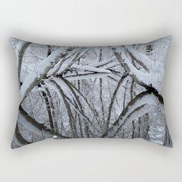Winter creek beauty Rectangular Pillow