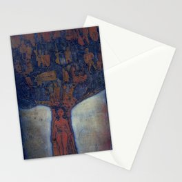 Family Tree, etching, 1983 Stationery Cards