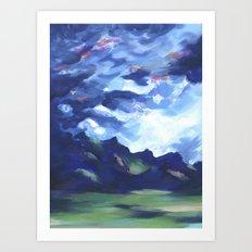 Cotopaxi Storm Art Print