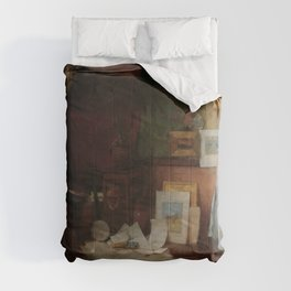 Charles Courtney Curran - Fair Critics Comforters