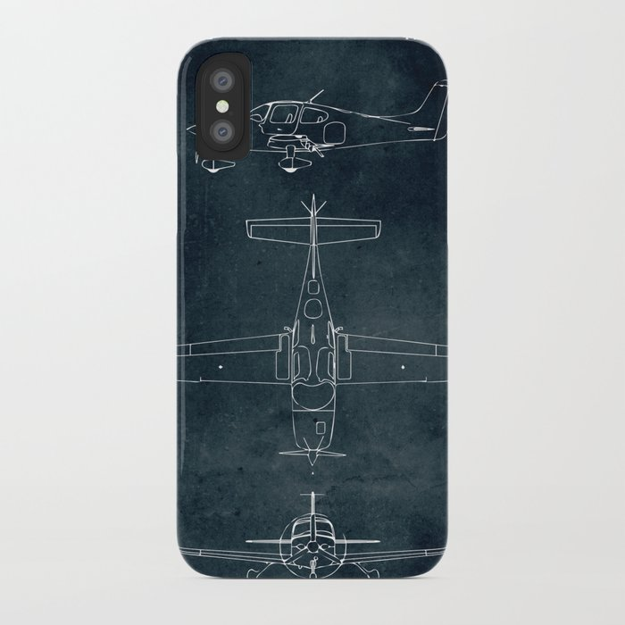 CIRRUS SR22 - First flight 2001 iPhone Case