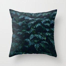 fern field Throw Pillow