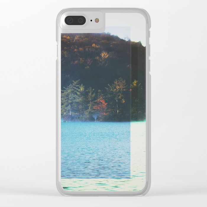Fractions A78 Clear iPhone Case
