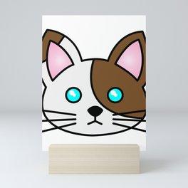 Cute Cartoon Cat Mini Art Print