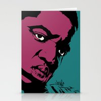 notorious Stationery Cards featuring Notorious by Vee Ladwa
