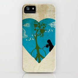 cultivating peace iPhone Case