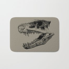 Postosuchus Skull Bath Mat