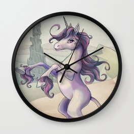 Last Unicorn by the Castle Wall Clock