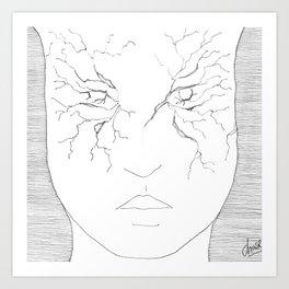 broken Art Print