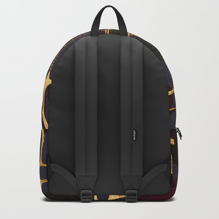 golden decor Backpack