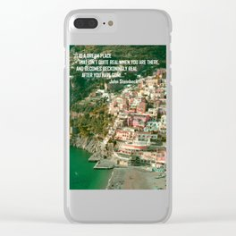 Travel Bites Deep Clear iPhone Case