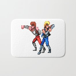 Double Dragon Brothers Bath Mat