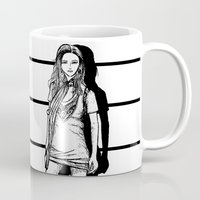 lady Mugs featuring Lady  by KeithKarloff