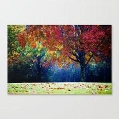 The Colorful Landscape Canvas Print