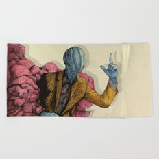 Infected 2016 Beach Towel