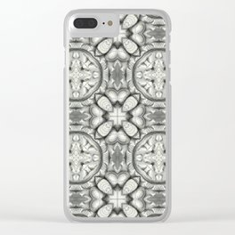 Cement Cloud Clear iPhone Case