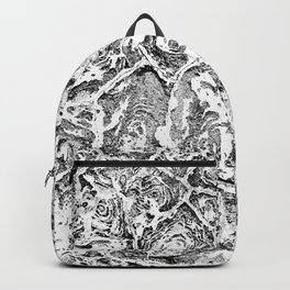 Abstract textured surface Backpack