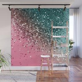 Tropical Watermelon Glitter #2 #decor #art #society6 Wall Mural