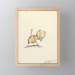 #coffeemonsters 503 Framed Mini Art Print