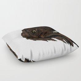 Flatcoated Floor Pillow