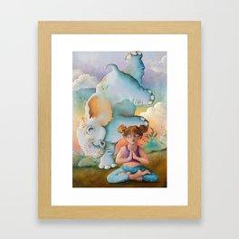 Z imagination Faith & Spirit Framed Art Print