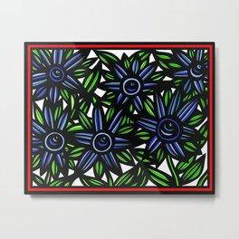 Art Print, Wall Art, Home Decor, Print Botanical, Drawing Flowers, Line Drawing Flower, Botanical Pr Metal Print