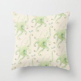 Septopus Throw Pillow