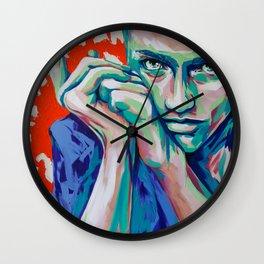Eline Challenge by carographic, Carolyn Mielke Painting Wall Clock
