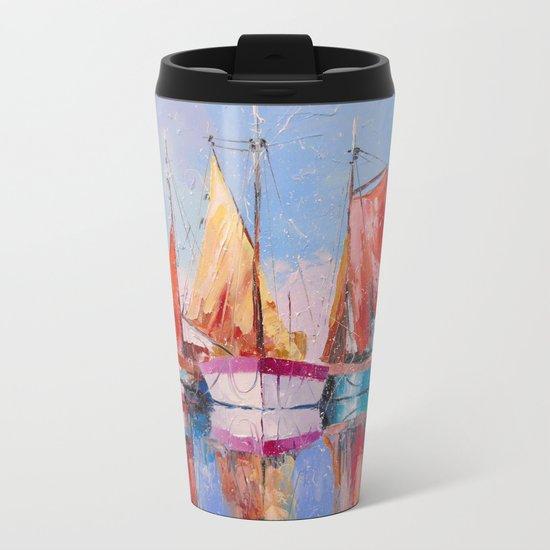 Quiet Harbor Metal Travel Mug