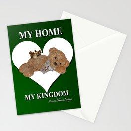 My Home, My Kingdom - Green Stationery Cards