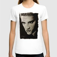 elvis T-shirts featuring ELVIS by John McGlynn
